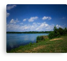 Assunpink Lake Canvas Print