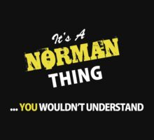 It's A NORMAN thing, you wouldn't understand !! by satro