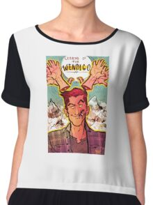 legend of the wendigo  Chiffon Top