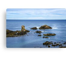 Idyllic view of a coast in Spain Canvas Print
