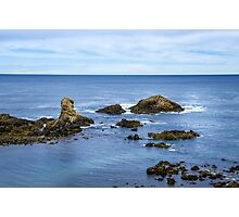 Idyllic view of a coast in Spain Photographic Print