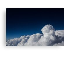 Clouds up High Canvas Print