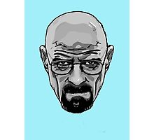 Walter White - Heisenberg - Breaking Bad- Black and White Photographic Print
