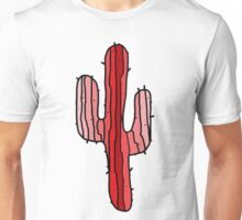 Red Cactus Unisex T-Shirt