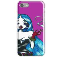 Blue Hair iPhone Case/Skin