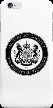 On her Majesty's secret service logo by bengrimshaw