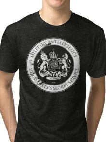 On her Majesty's secret service logo Tri-blend T-Shirt