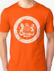 On her Majesty's secret service logo Unisex T-Shirt