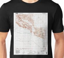 USGS TOPO Map Arizona AZ Midway SW 312360 1996 24000 Unisex T-Shirt