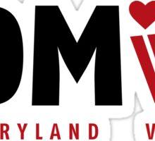 DMV Love Sticker