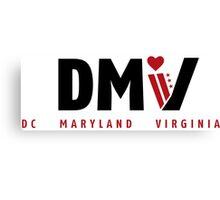 DMV Love Canvas Print