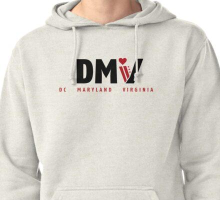 DMV Love Pullover Hoodie
