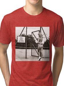 Funny pic - 1 Tri-blend T-Shirt