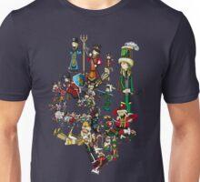 Renaissace Eastern Europe National Personifications Map Unisex T-Shirt