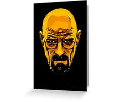 Walter White - Heisenberg - Breaking Bad Greeting Card