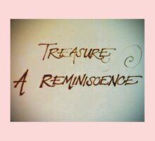 Treasure - A Reminiscence One Piece - Short Sleeve