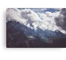 Mountain Summer Canvas Print