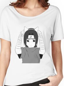 Cat Ear Kid Women's Relaxed Fit T-Shirt