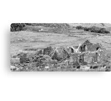 Snowdon Ruins Canvas Print