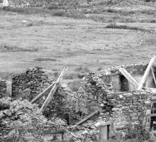 Snowdon Ruins Sticker