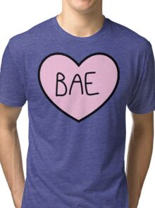 BAE HEART TUMBLR Tri-blend T-Shirt