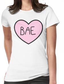 BAE HEART TUMBLR Womens Fitted T-Shirt