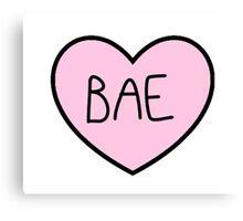 BAE HEART TUMBLR Canvas Print