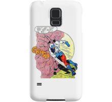 Comic Book Rock Crash! Samsung Galaxy Case/Skin