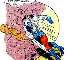 Comic Book Rock Crash! by Rachel Flanagan