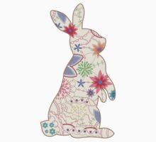 Vintage rabbit Baby Tee