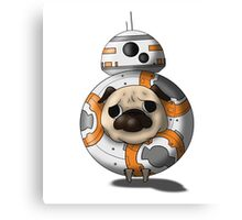 PP8 - Pug in Costume Canvas Print