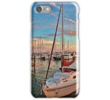 Afternoon At The Marina - Vertical  iPhone Case/Skin