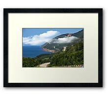 CAPE BRETON CABOT TRAIL Framed Print