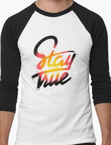 Stay True Men's Baseball ¾ T-Shirt