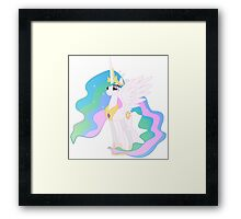 Princess Celestia (My Little Pony) Framed Print