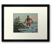 Summer Break! Framed Print