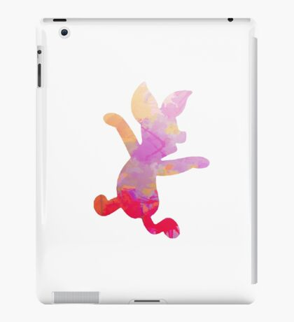 Pig Inspired Silhouette iPad Case/Skin