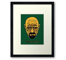 Walter White - Heisenberg - Breaking Bad - T Shirt and more Framed Print