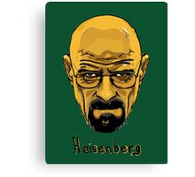 Walter White - Heisenberg - Breaking Bad - T Shirt and more Canvas Print