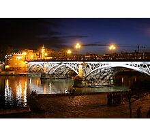 Bridge of Triana Photographic Print