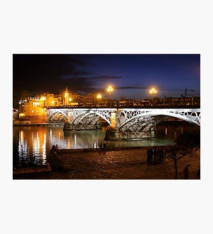 Bridge of Triana Photographic Print