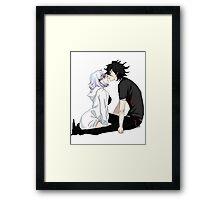 Anime Couple Framed Print
