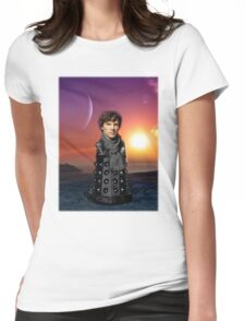 Consulting Dalek Womens Fitted T-Shirt