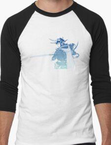 -FINAL FANTASY- Final Fantasy I Logo Men's Baseball ¾ T-Shirt