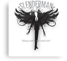 Slenderman Formalwear Canvas Print