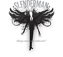 Slenderman Formalwear Photographic Print