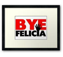 Bye Felicia Hand Wave Framed Print