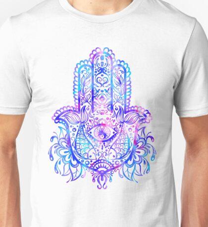 Pastel Colors Hamsa Hand Unisex T-Shirt