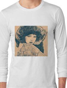 MOVIE STARS CLARA BOW Long Sleeve T-Shirt