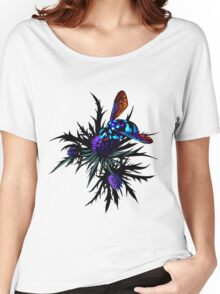 Thistle Bee Women's Relaxed Fit T-Shirt